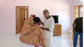 bjp-nephew-who-fell-on-his-feet-and-was-blessed-by-nr-congress-father-in-law