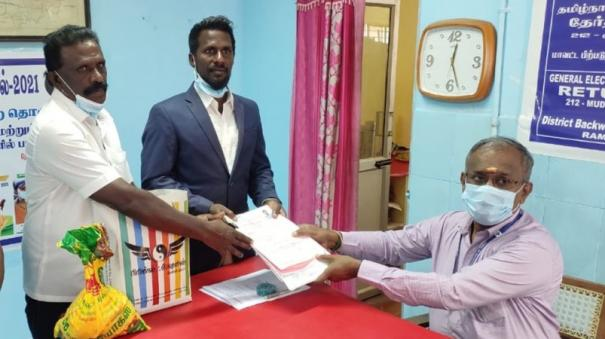 captain-devasitham-of-the-indian-langadi-team-competes-independently-in-the-mudukulathur-constituency