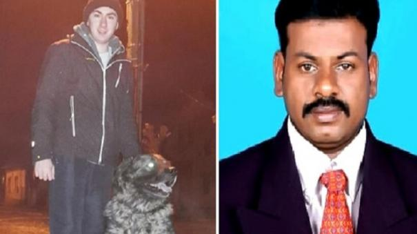 madurai-doctor-gives-medical-advice-to-dog-in-serbia