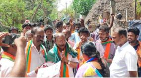 i-will-improve-thirunallar-along-with-tirupati-bjp-candidate-campaign