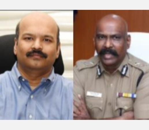 coimbatore-collector-commissioner-of-police-join-a-change-action-on-the-recommendation-of-the-election-commission