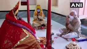 pm-modi-offers-prayer-at-centuries-old-jeshoreshwari-kali-temple-in-bangladesh