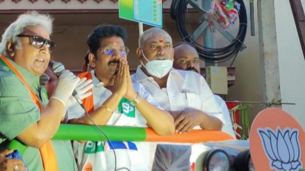 ramkumar-campaigns-for-bjp-candidate