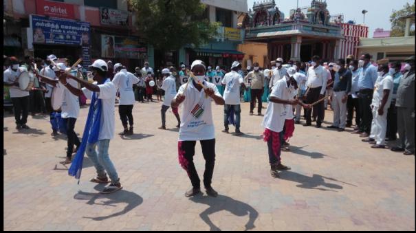 bharatanatyam-silambattam-golattam-awareness-programs-for-students-emphasizing-100-voting
