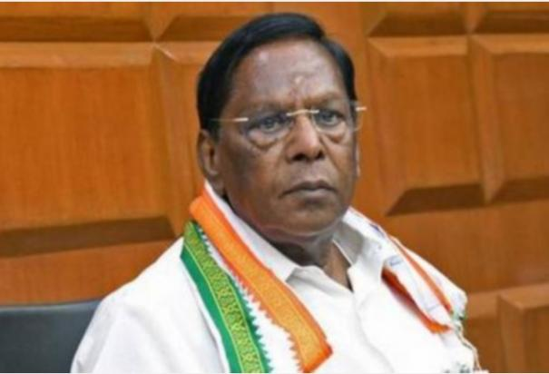 if-bjp-comes-to-power-in-pondicherry-nr-congress-will-be-united-in-bjp-rangasamy-will-be-isolated-former-chief-minister-narayanasamy