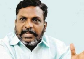 thirumavalavan-urges-to-take-action-against-those-who-damaged-anna-statue
