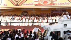 stalin-avoids-crowd-in-pudhuchery-campaign