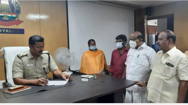 anitha-video-anita-s-brother-complained-mafoi-pandiyarajan