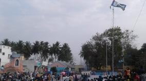 ariyalur-pure-mangala-mother-temple-annual-festival-begins-with-flag-hoisting
