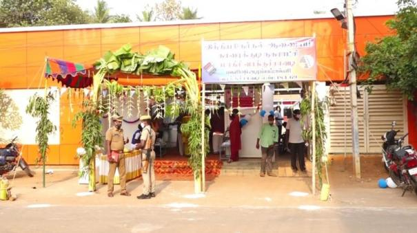 model-voting-booth-in-sivagangai