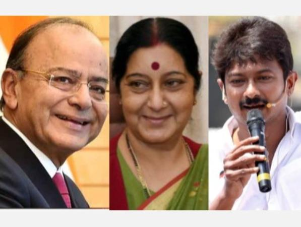 controversy-over-sushma-jaitley-s-death-election-commission-issues-notice-to-udayanidhi-stalin