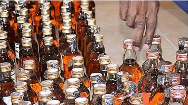 35-5-thousand-liters-of-liquor-confiscated-in-puducherry-during-election-irregularities