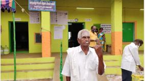 the-105-year-old-marappa-gounder-who-voted-in-all-the-legislative-elections-of-independent-india