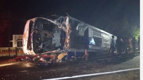 government-bus-lorry-collision-near-chidambaram-3-killed-30-injured