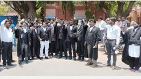 arakkonam-dalit-youth-massacre-lawyers-protest-in-chengalpattu