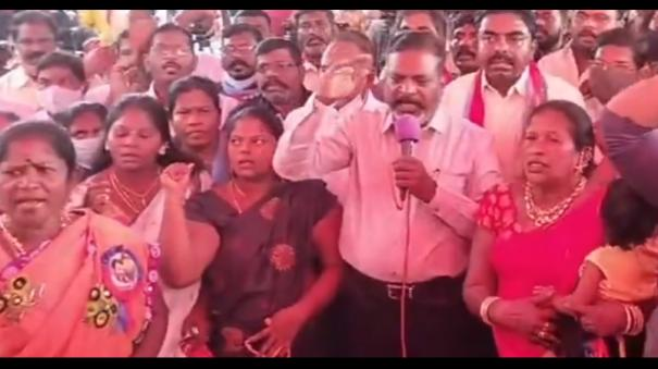 thirumavalan-protest