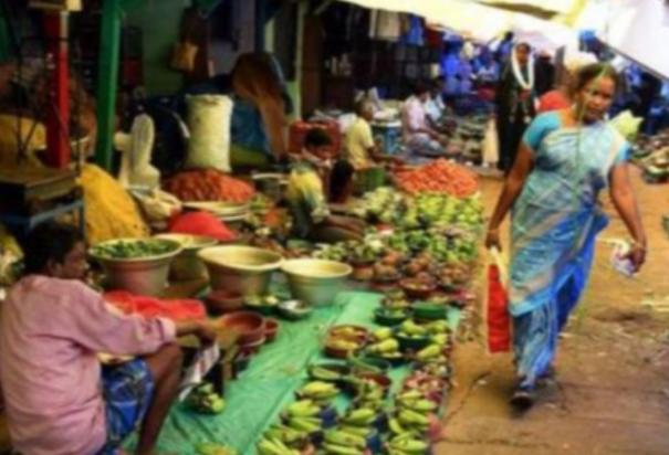 retail-trade-in-trichy-gandhi-market-in-violation-of-government-order-corporation-officials-locked-the-gates