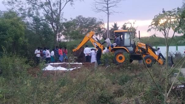 re-excavation-of-corona-patient-arumugam-s-body-buried-according-to-islamic-rites-confusion-as-he-was-transferred-to-cuddalore-hospital