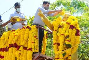 ambedkar-s-birthday-party-in-karaikal-respect-for-the-collector-political-parties