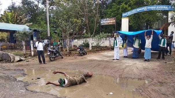 farmers-protest-in-tiruvannamalai