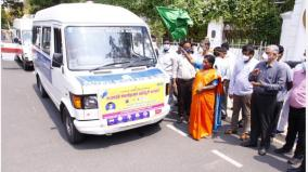 corona-vaccination-by-mobile-vehicle-in-pondicherry-the-governor-started-tamil-music