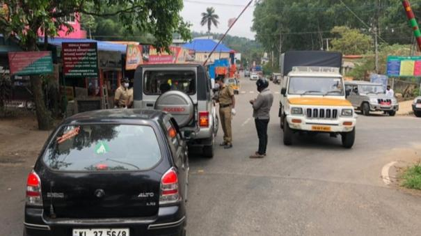 restrictions-in-theni-kerala-border-due-to-corona-rise