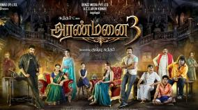 aranmanai-3-first-look-released