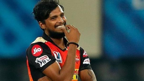 ipl-2021-srh-pacer-natarajan-ruled-out-of-tournament