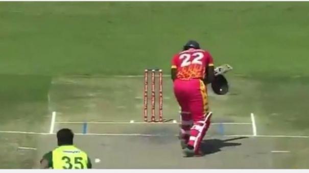 debutant-arshad-iqbals-bouncer-breaks-batsman-s-helmet-into-two-halves