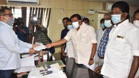 kn-nehru-urges-to-protect-evm-strong-room