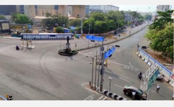 full-curfew-begins-in-tamil-nadu-chennai-deserted
