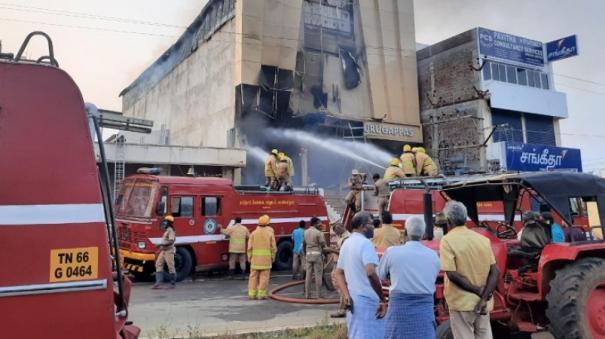 surandai-fire-at-textile-shop