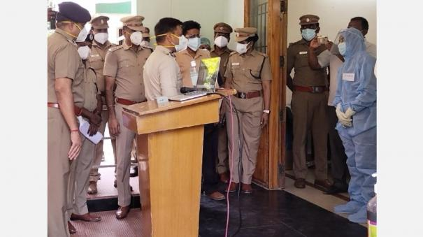 police-continue-to-be-affected-by-corona-infection-police-commissioner-open-a-treatment-center-in-chennai