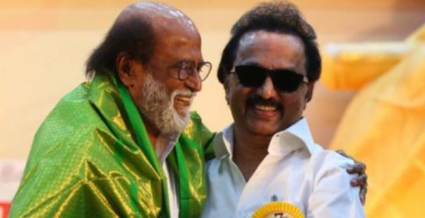 rajini-wished-mkstalin-for-their-victory
