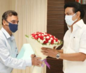 chief-secretary-and-health-secretary-met-with-mk-stalin