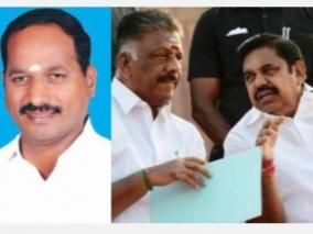 aiadmk-s-winning-candidate-in-the-sentha-mangalam-constituency