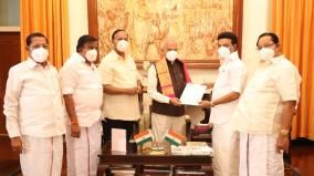 mk-stalin-give-mla-support-letter-to-governor-banwarilal-purohit