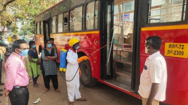 nellai-less-crowds-in-buses-due-to-new-restrictions