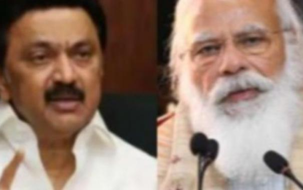 pm-narendra-modi-spoke-to-tamil-nadu-cm-mk-stalin-on-the-covid-related-situation-in-the-state