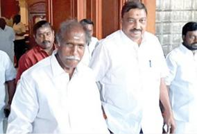 corona-to-puducherry-chief-minister-rangasamy-admitted-to-a-private-hospital-in-chennai