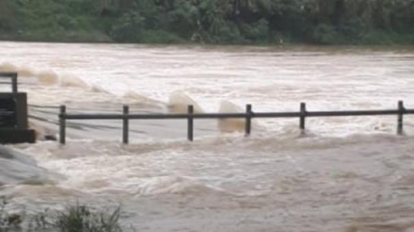 Kumari heavy rains lash due to tauktae cyclone
