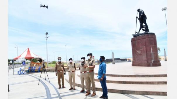 curfew-in-chennai-police-monitor-violators-with-drone-cameras