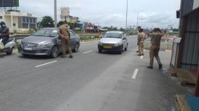 curfew-with-new-restrictions-intensification-of-e-pass-vehicle-testing-at-tamil-nadu-hosur-border