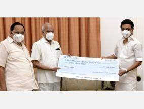 governor-donates-rs-1-crore-one-month-s-salaryto-corona-relief-fund-cm-stalin-received-in-person