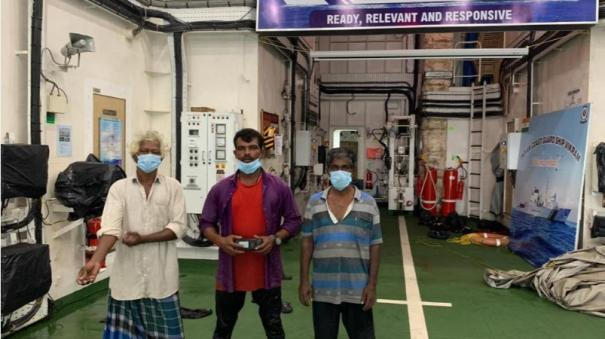 indian-coast-guard-rescues-three-stranded-fishermen