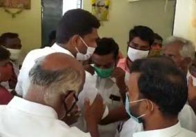 dmk-issue-in-vaniyambadi