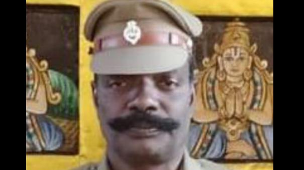 Police Sub Inspector dies while being treated for corona in Ariyalur