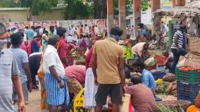 sivagangai-crowded-market-police-take-action