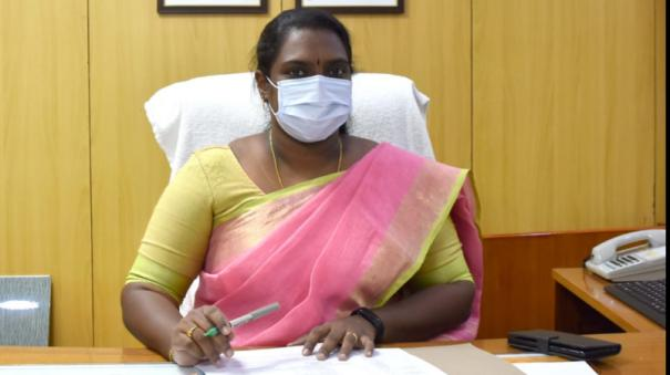divyadarshini-assumes-charge-as-dharmapuri-district-collector-make-sure-to-prioritize-corona-prevention