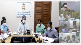 vaccination-camps-in-chennai-corona-prevention-measures-review-by-the-corporation-commissioner